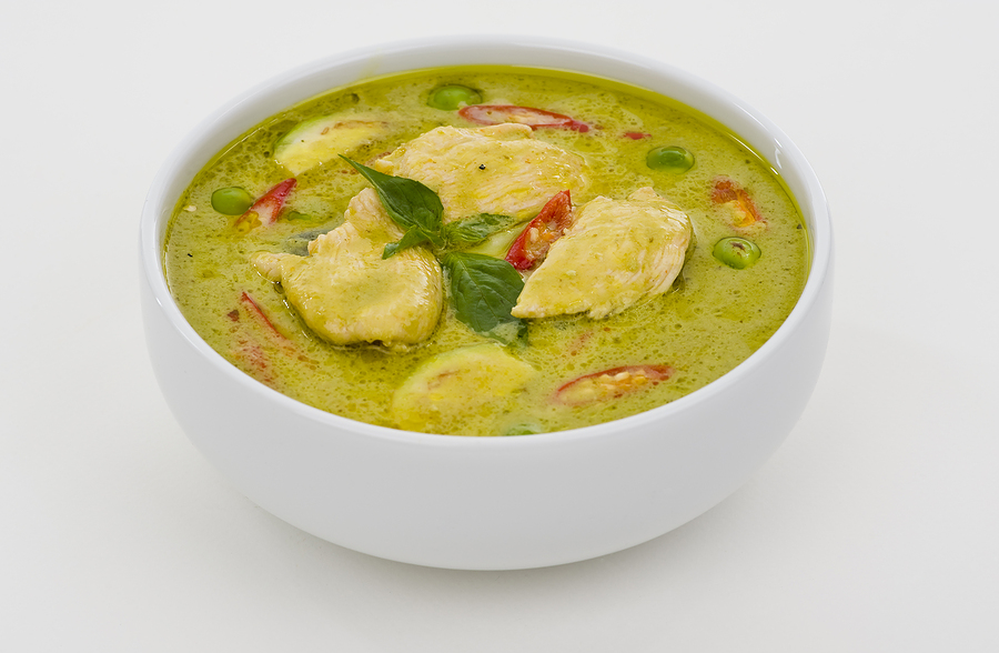 bigstock Green Curry In A White Bowl 6885347